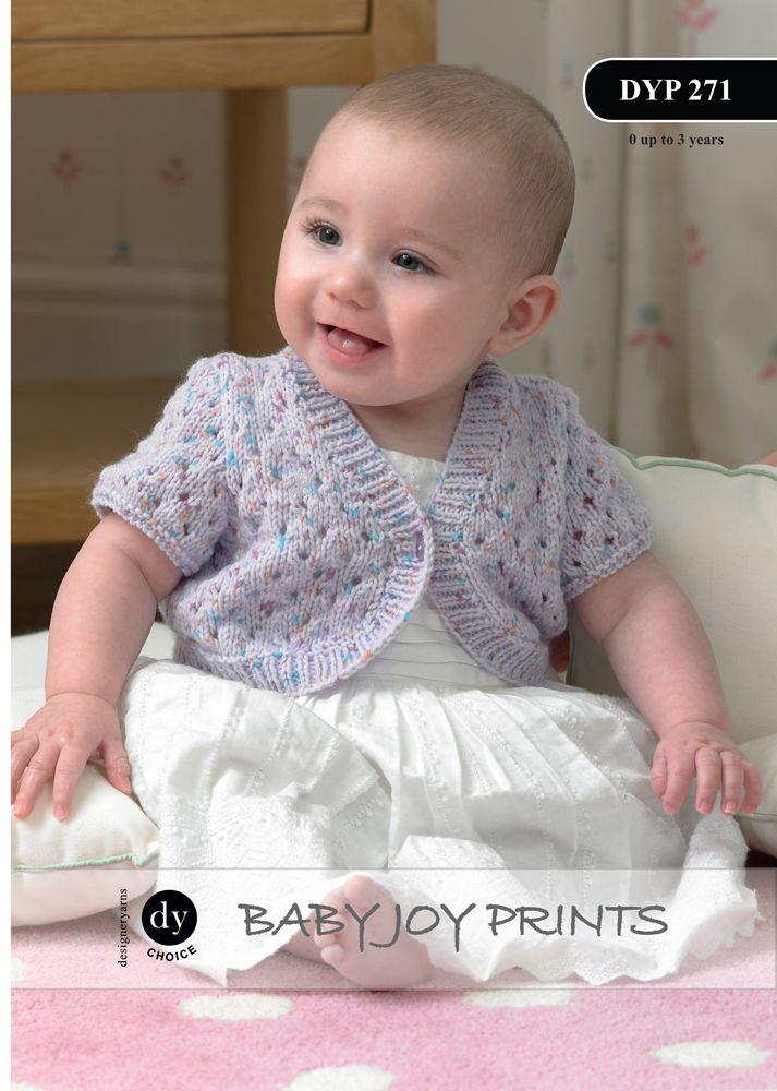 Dk Baby Girls Knitting Pattern 45 To Knit Dress Bonnet Shoes